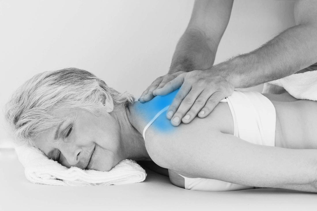 Relaxing massage to reduce stress at Blackheath Sports Clinic