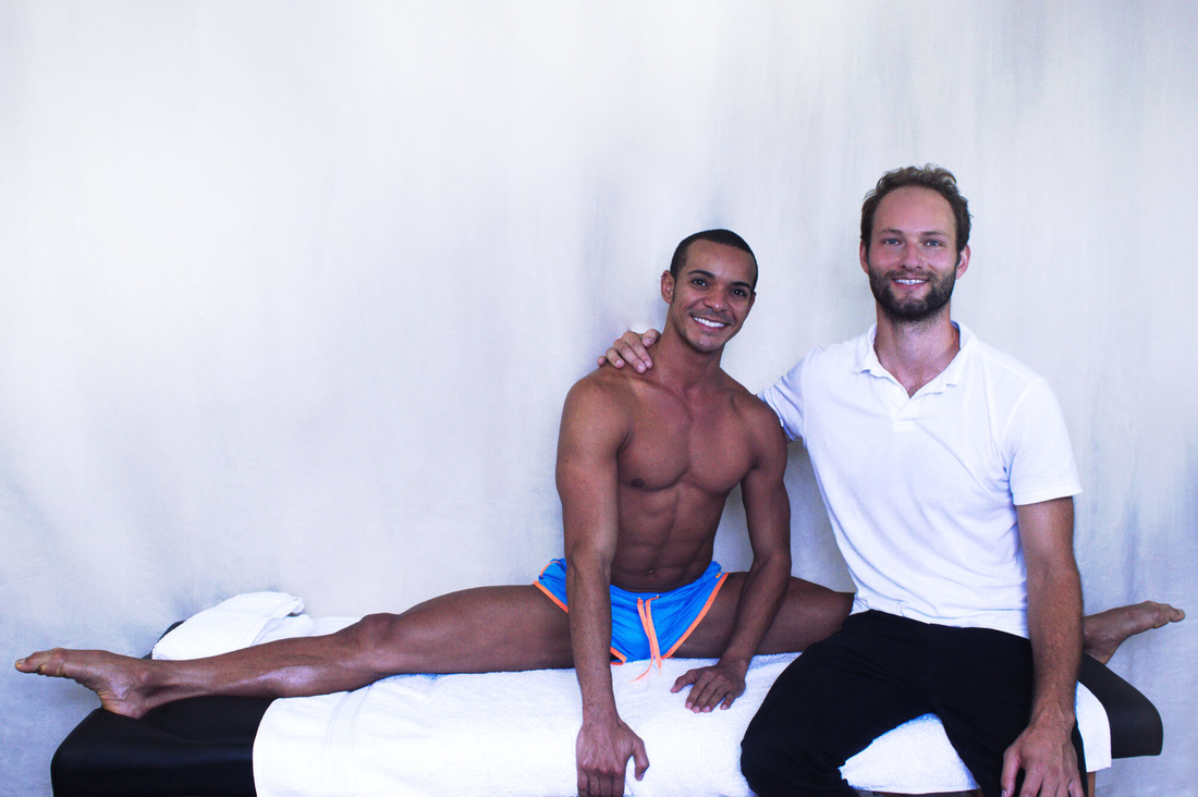 Professional Dancer and London West End performer Francisco Lins recommends treatment with osteopath Dr Christoph Datler at Blackheath Sports Clinic