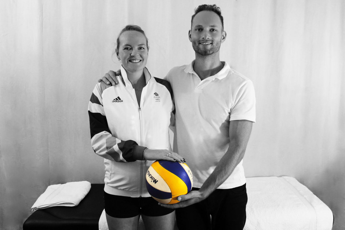 London 2012 Olympic athlete Shauna recommends treatment at Blackheath Sports Clinic with osteopath Dr Christoph Datler